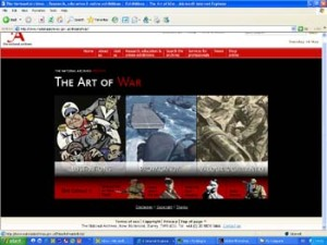 National Archives: The Art of War