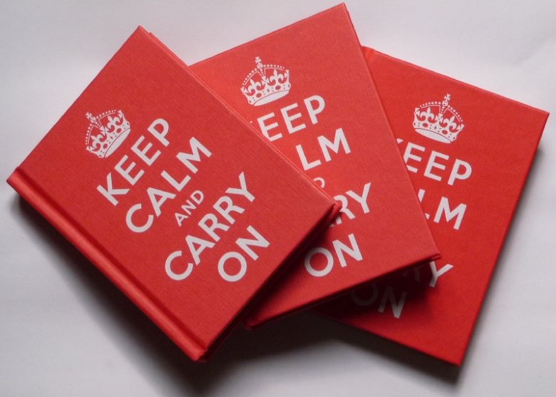 Keep Calm and Carry On (Book, Ebury Press)