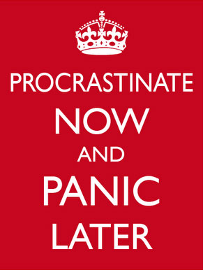 Procrastinate Now