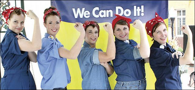 Rosie the Riveter: Modern Day