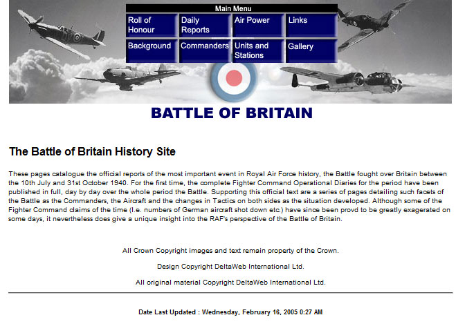 Battle britain research paper